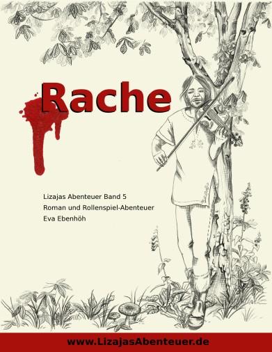 """Cover Band 5 - """"Rache"""" - Roman und Midgard Abenteuer"""
